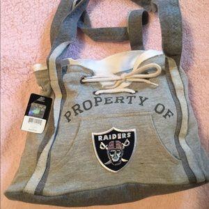 Oakland Raiders Hoodie Purse